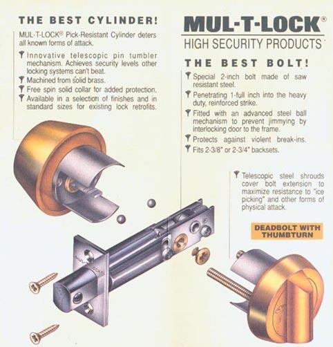 MVM - Mul-T-Lock Deadbolts